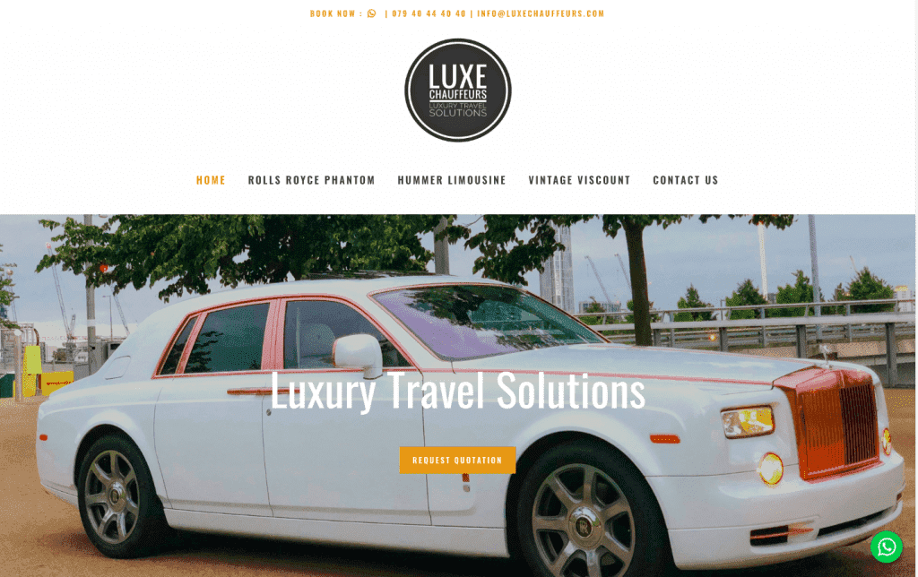 luxe chauffeurs